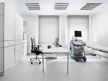 Einblick in eine moderne Arztpraxis