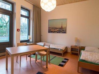 Zweibettzimmer in der Geschützen Werkstadt Bonnewitz