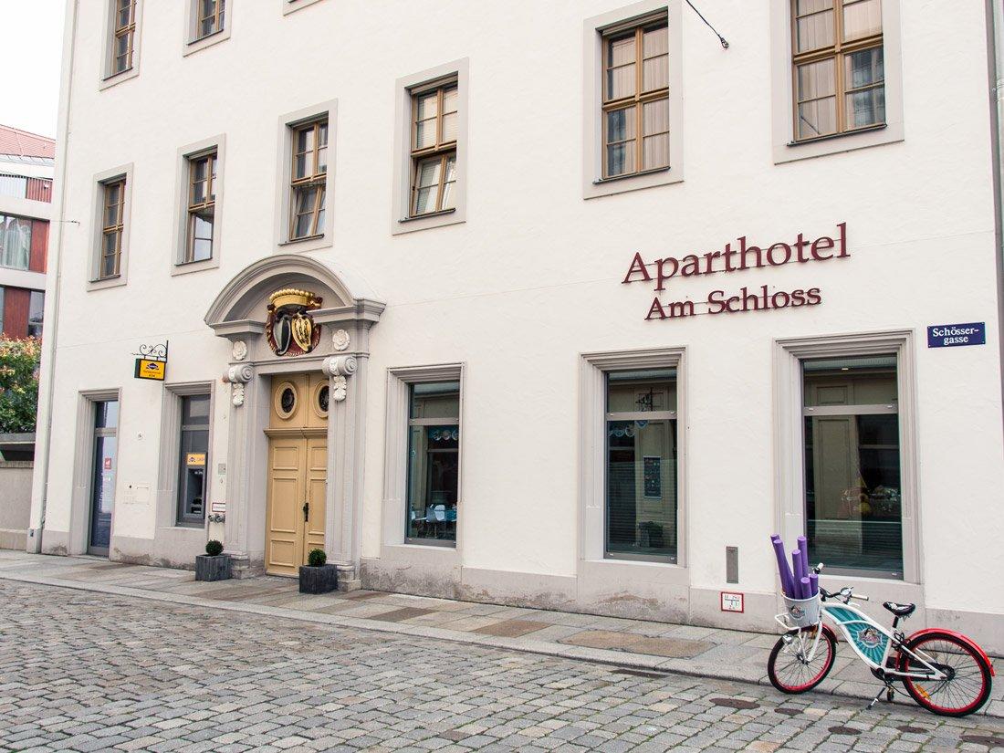 Aparthotel am Schloss- Aussenansicht