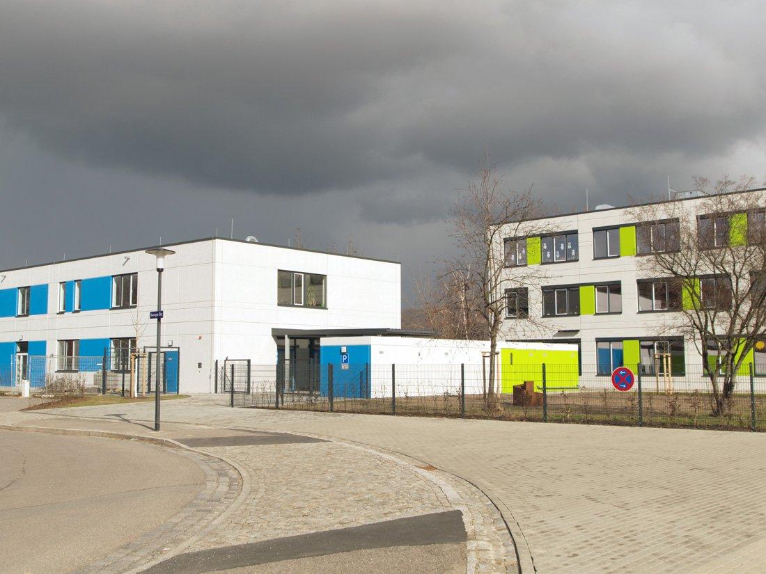 Aussenansicht Evangelischer Kindergarten