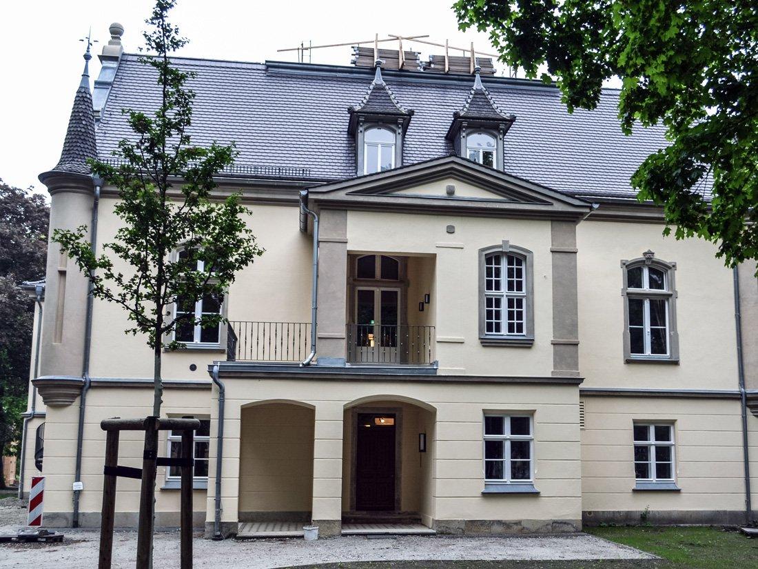 Aussenbild Gesundheitshotel Hohenbocka