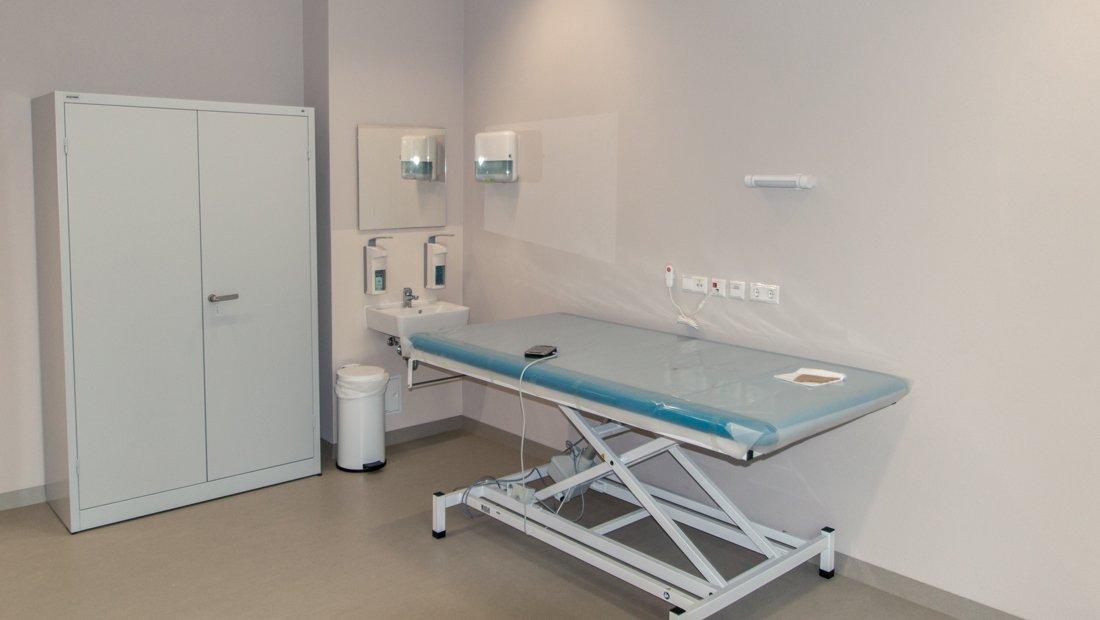 Behandlungsraum im Epilepsiezentrum Kleinwachau