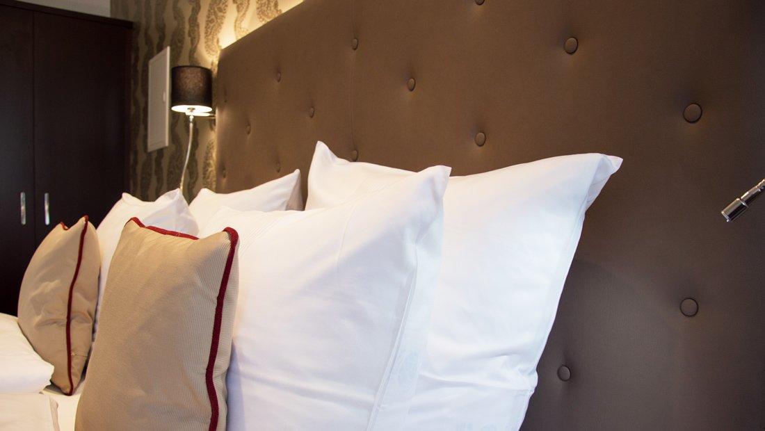 Detailaufnahme Bett Kerstinghaus Meissen