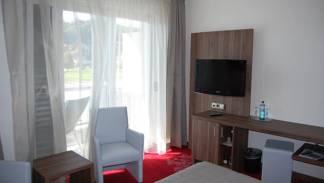 Doppelzimmer mit Balkon-Elbiente-Rathen
