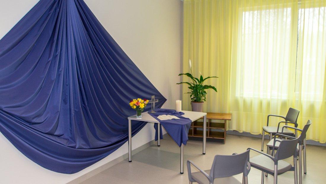 Gebetsraum im Epilepsiezentrum Kleinwachau