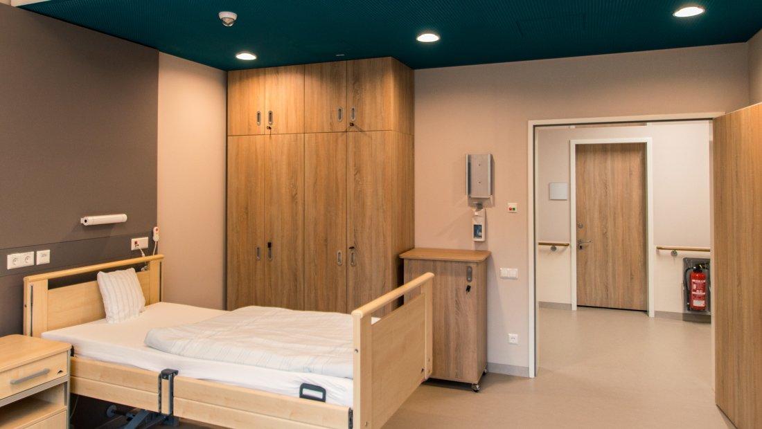 Krankenzimmer im Epilepsiezentrum Kleinwachau