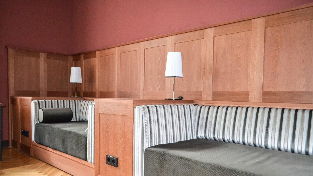 Lounge- Gesundheitshotel Hohenbocka