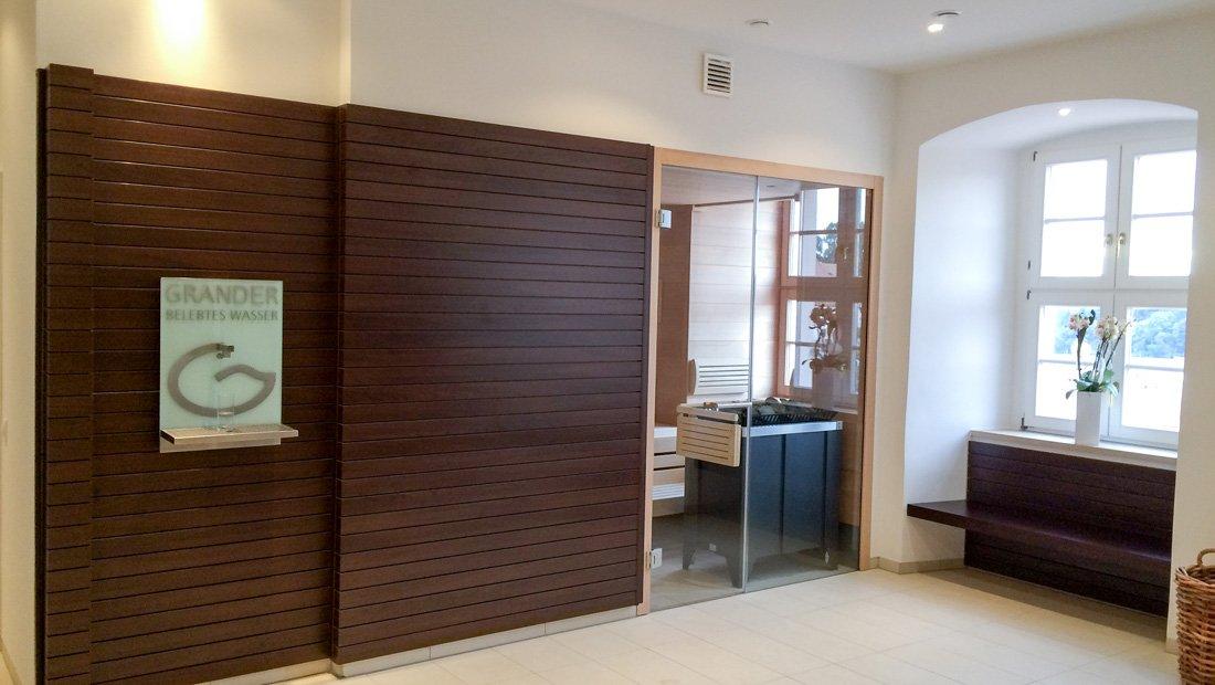 Wellnessbereich mit Sauna Kerstinghaus Meissen