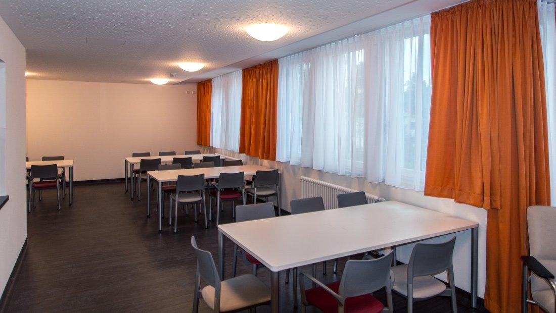 Speiseraum im St. Marien Krankenhaus in Dresden