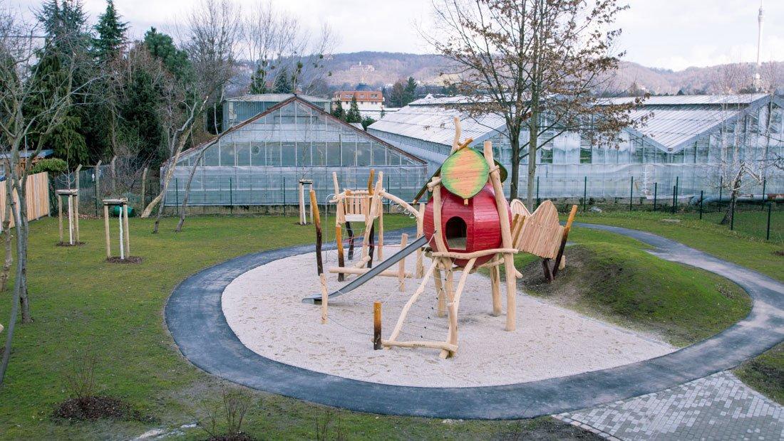 Spielplatz Evangelischer Kindergarten Dresden