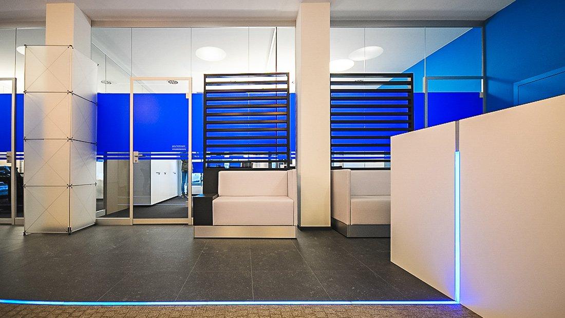 Volksbank Pirna Wartebereich