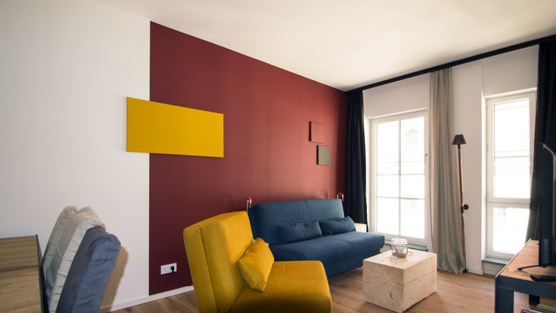 Wohnbereich3 im Lebendigen Haus in Dresden