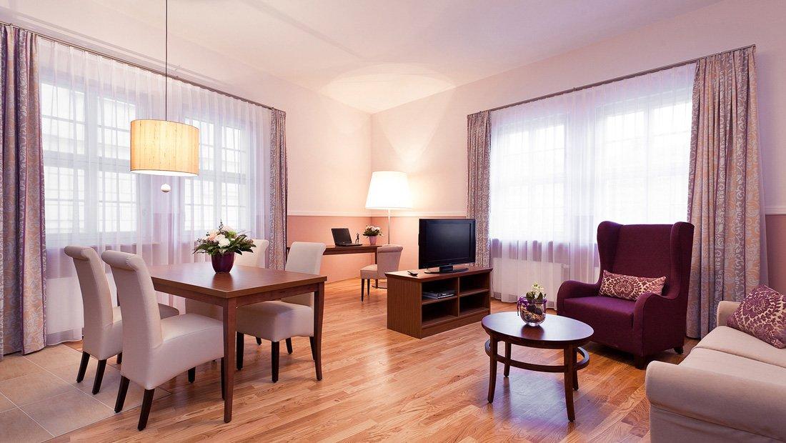 Wohnbereich Aparthotel am Schloss Dresden