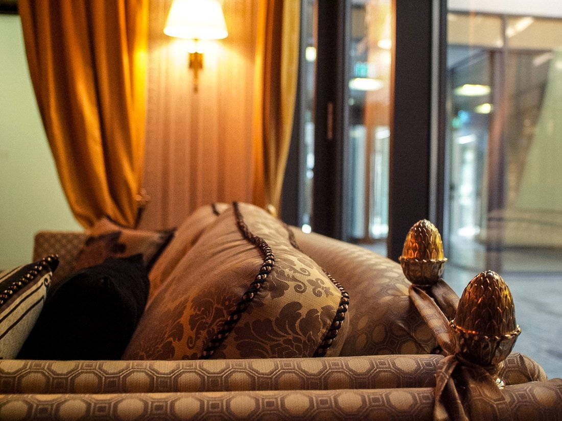 Hotel Suitess Dresden - Detailaufnahme Lounge