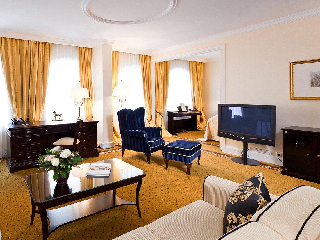 Hotel Suitess Dresden Wohnbereich