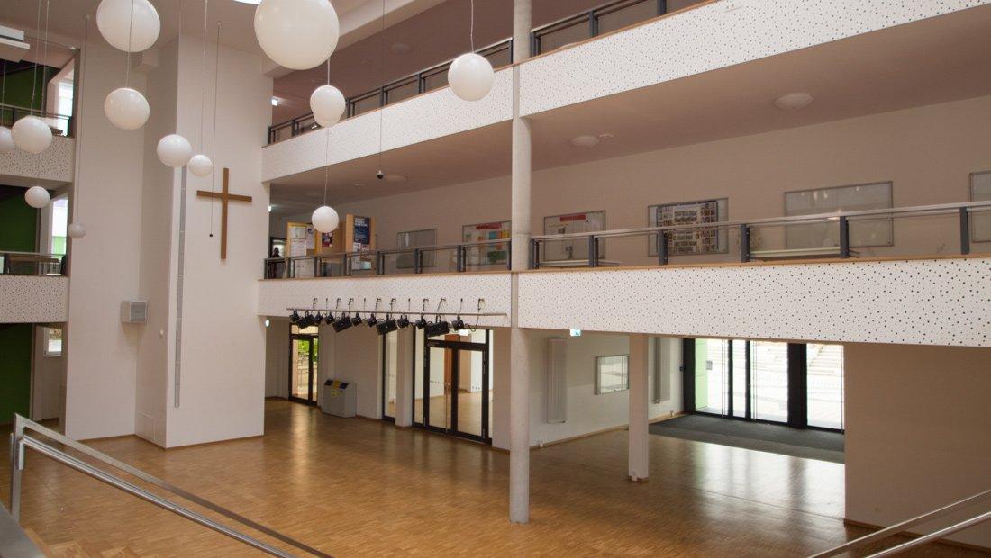 Aula in der Christlichen Schule Dresden