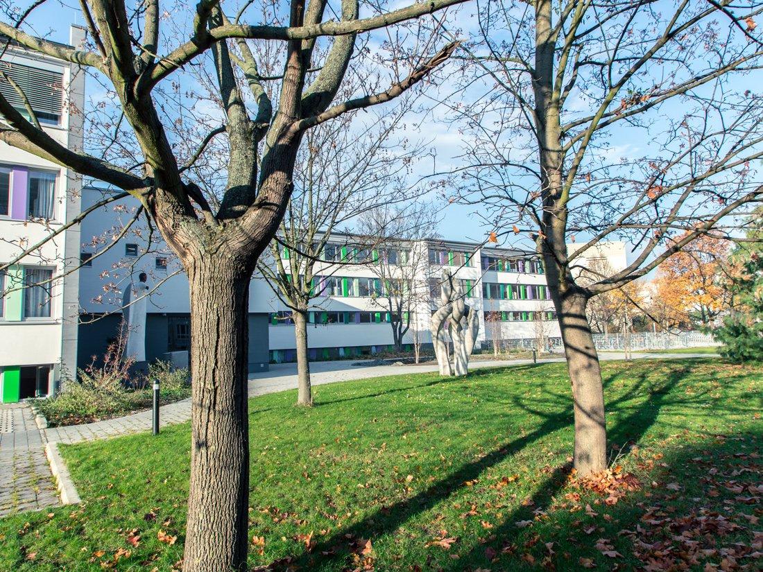 Aussenansicht Christliche Schule Dresden