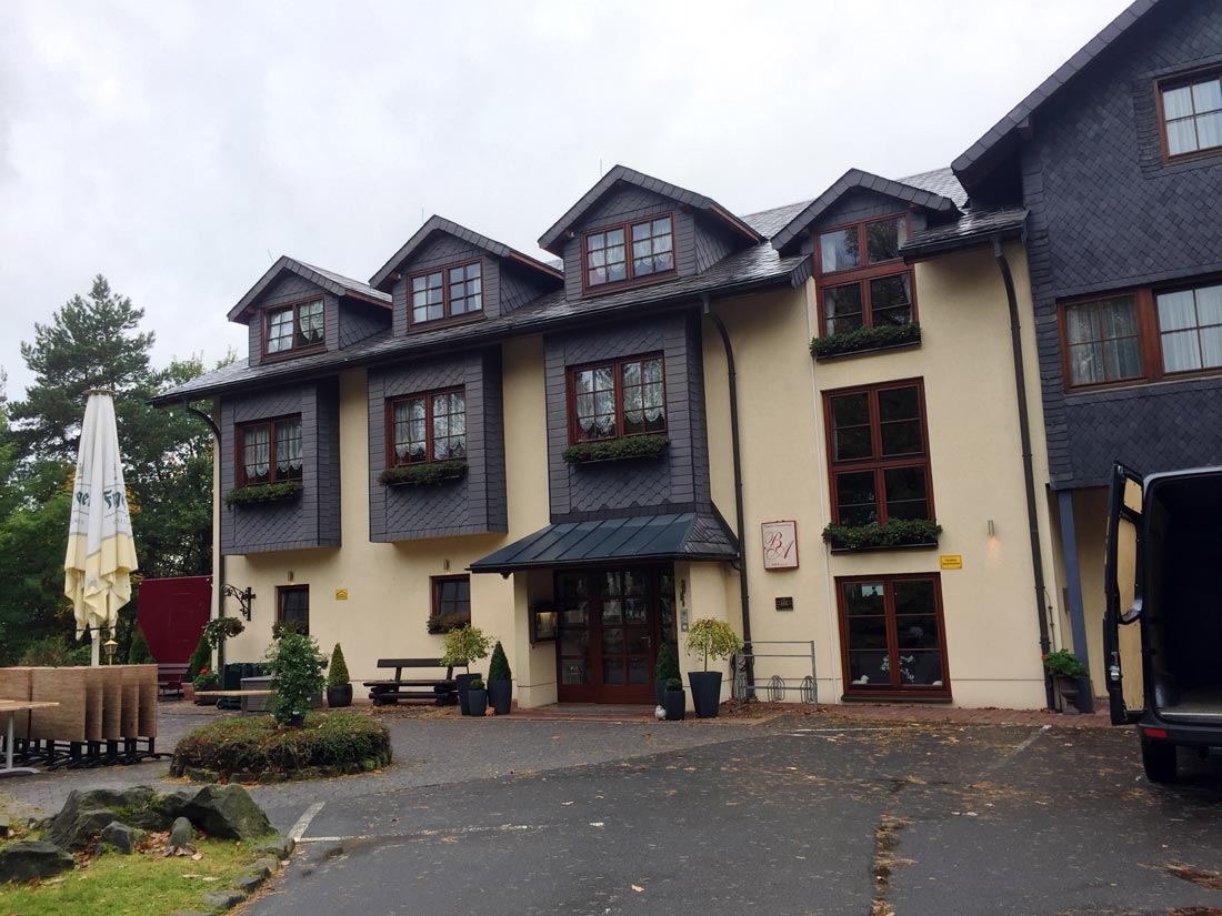 Aussenansicht Hotel Augustusberg in Bad Gottleuba
