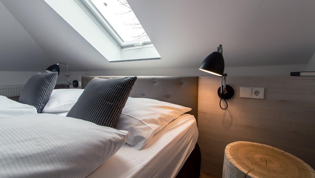 Detailansicht Bettkopfhaupt Aparthotel Bad Saarow