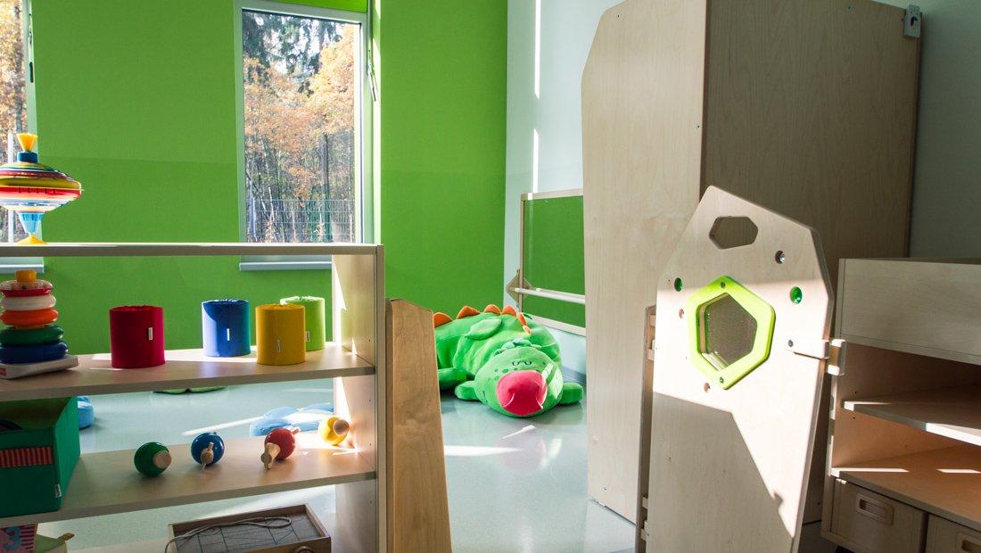 Gruppenraum Waldkindergarten Ottendorf-Okrilla