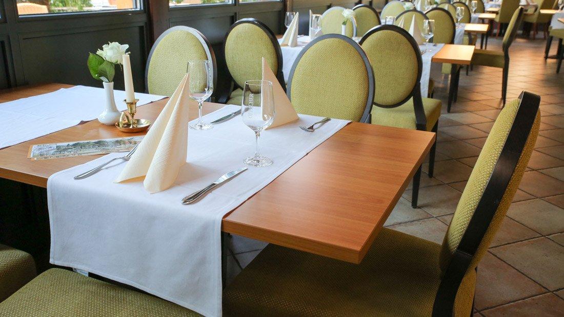 Detailaufnahme Restaurant Elbterrassen Wachwitz