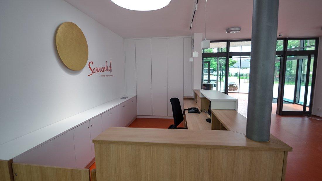 Empfang Begegnungstätte Sonenhof
