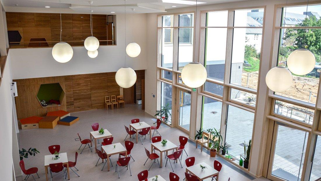 Foyer SRH Montessori Grundschule Dresden