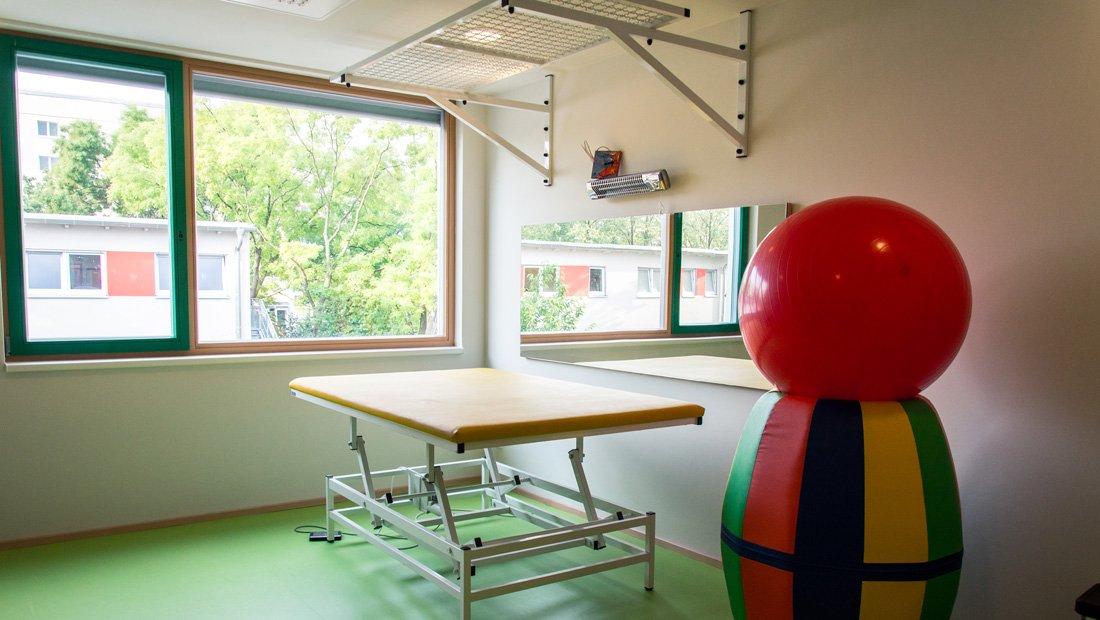 Gymnastikraum Lebenshilfe Dresden