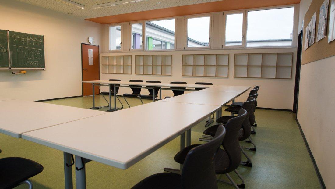 Klassenzimmer Christliche Schule Dresden