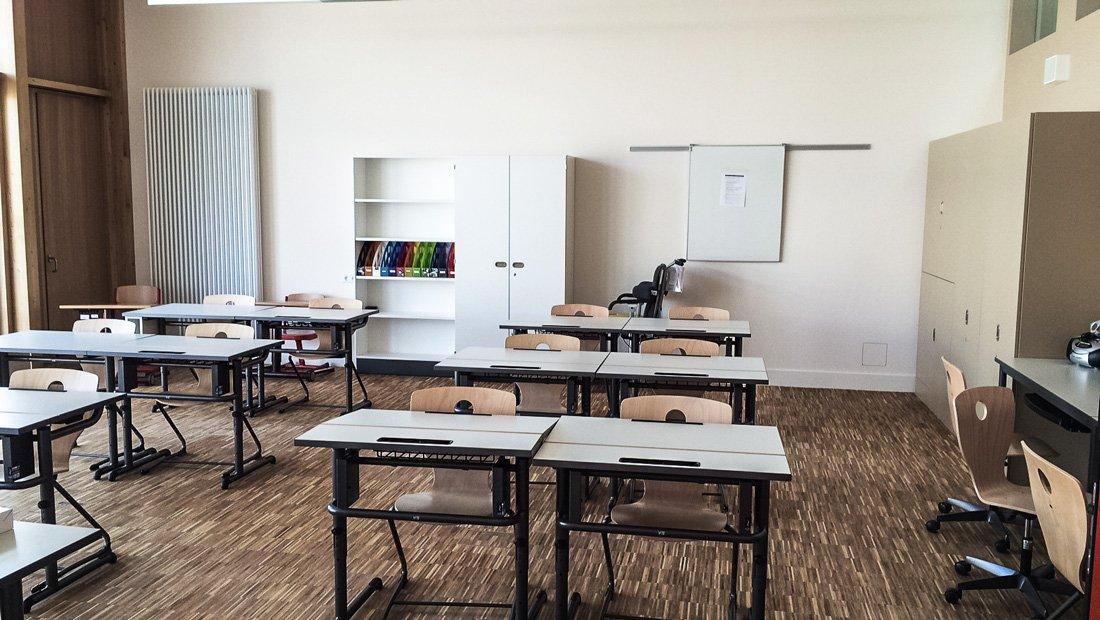Klassenraum Terra Nova Chemnitz