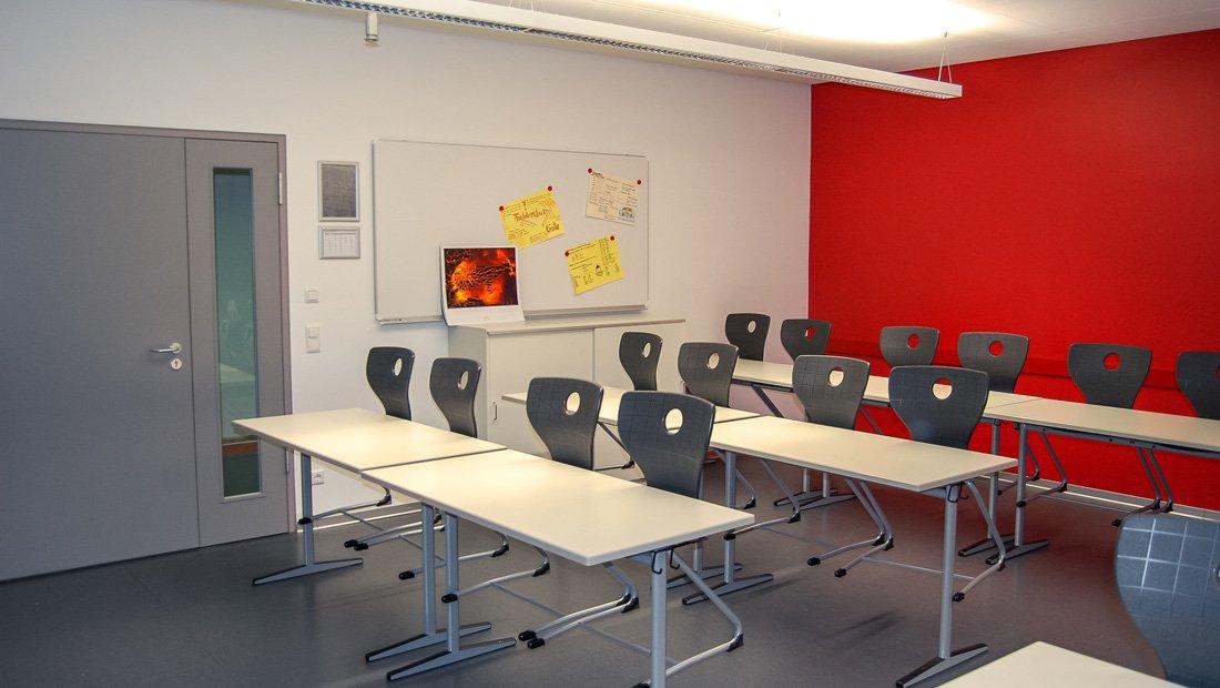 Klassenraum Gymnasium Großröhrsdorf