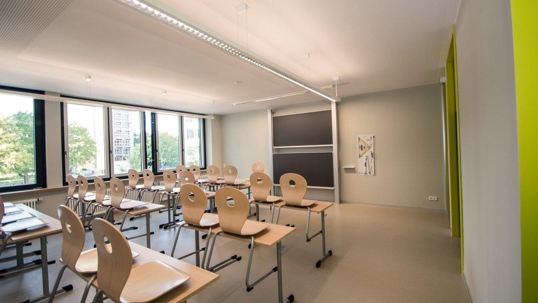 Klassenraum Gymnasium Bürgerwiese Dresden