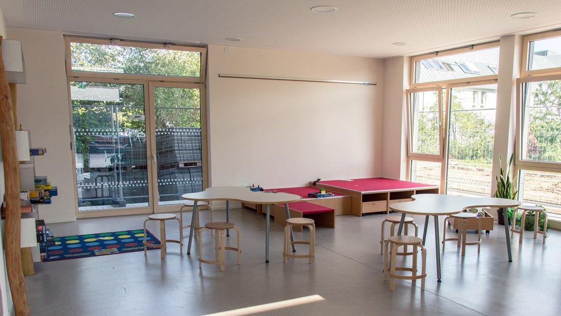 Klassenzimmer SRH Montessori Grundschule Dresden