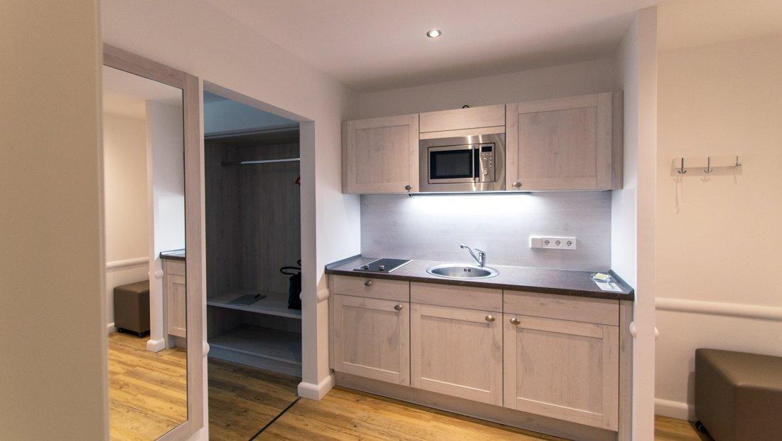 Küche Aparthotel Victoria Bad Saarow