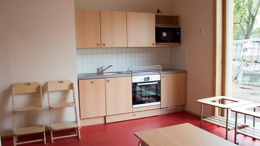 Küche Lebenshilfe Dresden.