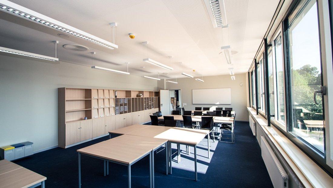 Lehrerzimmer Gymnasium Bürgerwiese Dresden