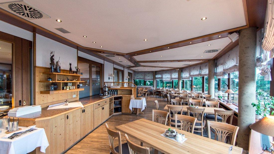 Restaurant überblick im Hotel Augustusberg in Bad Gottleuba