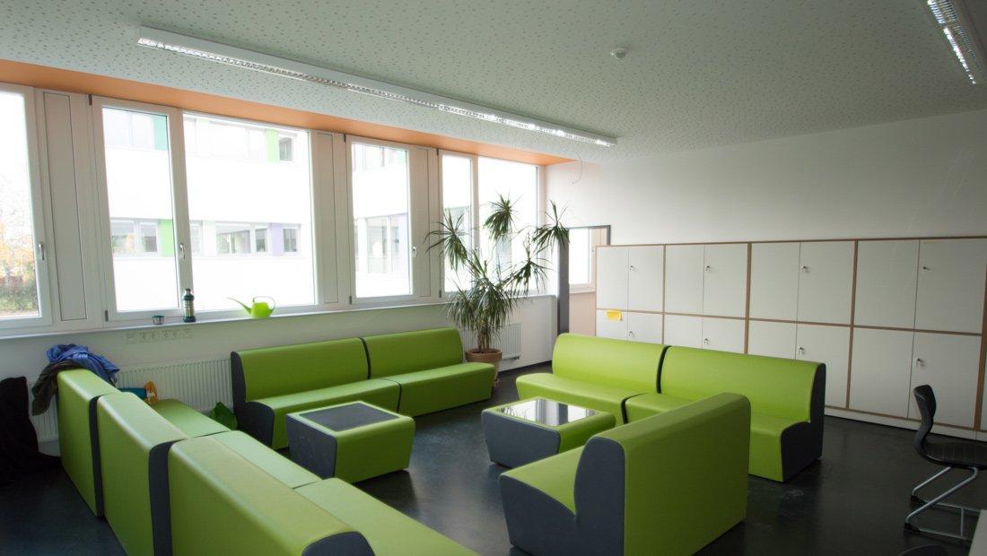 Sitzecke Christliche Schule Dresden