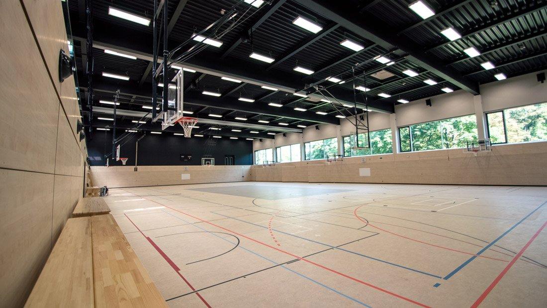 Sporthalle Gymnasium Bürgerwiese Dresden