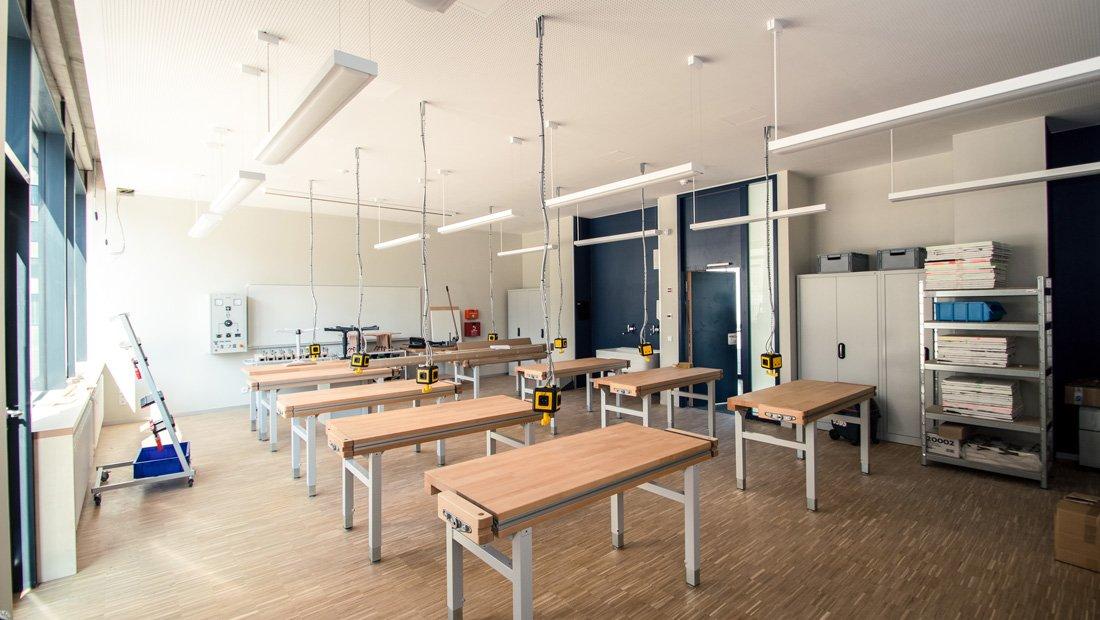 Werkraum Gymnasium Bürgerwiese Dresden
