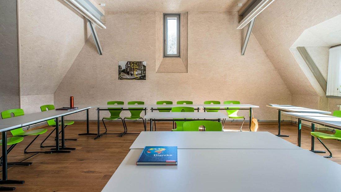 Klassenraum Gymnasium Tharandt