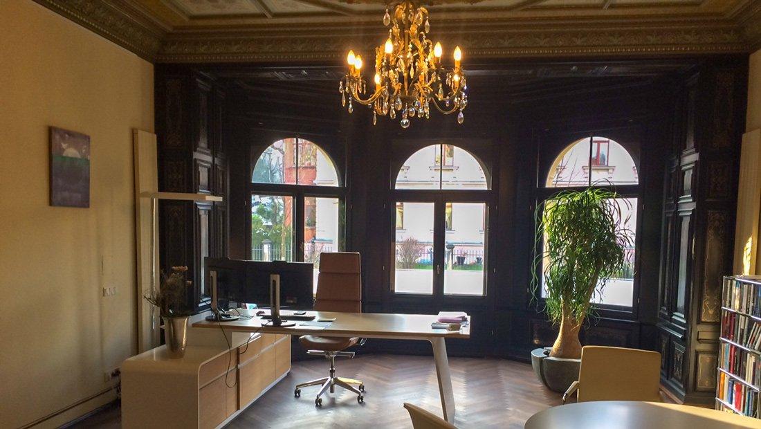 Schreibtischanlage Imvent Dresden
