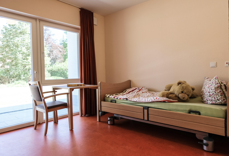 Einzelzimmer in der Einrichtung Martinshof Rothenburg.