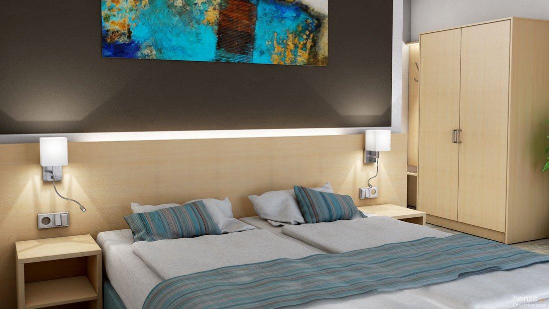 Riff Resort Bad Lausick Visualisierung des Schlafbereiches