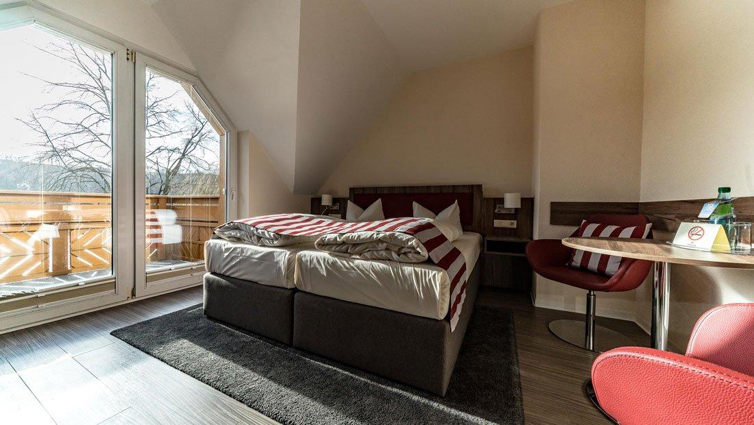 Detailansicht Bettanlage Hotel Knorre Meißen