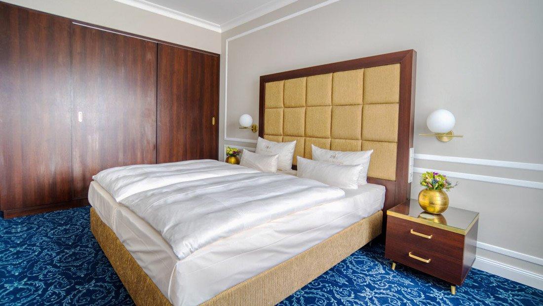 Hotel-Suitess-Schlafbereich